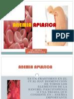 Clase Junio - Anemia Aplasica y Leucemia 2014