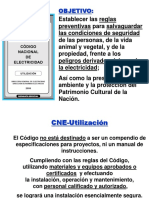 Aspectos Relevantes Del CNE Utilización