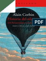 Corbin Alain - Historia Del Silencio