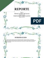 REPORTE SOBRE PRACTICA DE MEDICIONES ANTROPOMETRICAS(ESTATICA)