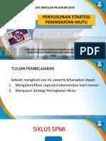 contoh presentasi tahap strategi SPMI