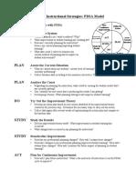 2-Lesson PDSA Model