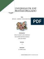 Mercado Gobierno y Desciciones Publicas