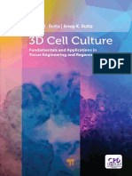 3D cell culture  fundamentals and applications in tissue engineering and regenerative medicine  2018