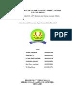 LAPORAN PRAKTIKUM FARMASETIKA SEDIAAN STERIL VOLUME BESAR kel. 4.docx