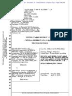 Second Amended Complaint MJ Estate v Disney