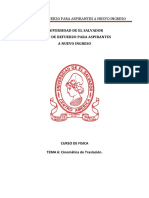 Física Tema 6 Cinemática de Traslación Versión PDF