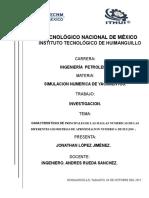 Caracteristicas Principales de Las Mallas Numericas de Las Diferentes Geometrias de Aproximacion Numerica de Flujos Jonathan .