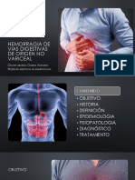 Hemorragia de Vias Digestivas de Origen No Variceal