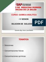 QAI - 04 DISOLUCIONES -Quimica Analitica I