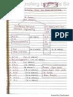 Mass transfer written notes for gate aspirants