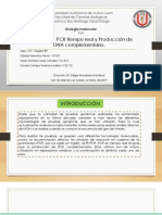 PCR, RT-PCR y PCR tiempo real