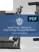 Bolted Field Splices for Steel Bridge Flexural Members May2017