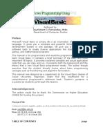 Visual Basic Manual