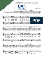 Himno Universidad de Antofagasta