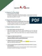 FAQ - Online Value Test BUMN Provided by PT Telkom Indonesia (Persero) Tbk