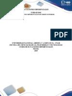 Trabajo Colaborativo Ecuaciones Diferenciales de Orden Superior