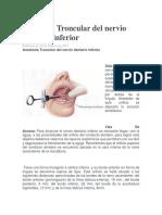 Anestesia Troncular del nervio dentario inferior.docx