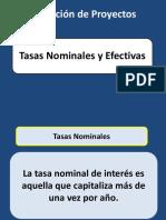 10 Tasas Nominales Efectivas