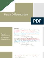 10 - Partial Differentiation