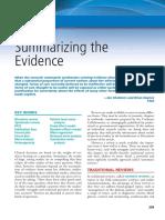 1b - Summarizing the Evidence - Fletcher, Clinical Epidemiology 5th Edition