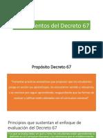 Fundamentos Del Decreto 67