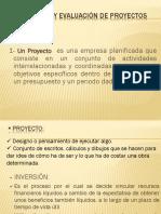 elaboracion y evaluacion de proyectos