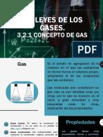 3.2 Leyes de Los Gases.