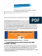 governmentadda.com-Time and Work Shortcut Tricks Tips amp Concept  How to Solve Work amp Time Question Short Trick .pdf