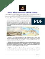 Military History Anniversaries 1116 Thru 113019