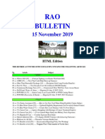 Bulletin 191115 (HTML Edition)