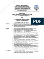 SK Tim Audit Mutu Internal SMKN 3 Bengkulu Selatan