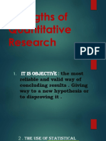 Strengths and Weaknesses of Qualitative Research Power Point