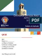 Dbda Exercises Post Cs2