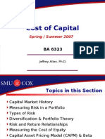 Session 5 - Cost of Capital