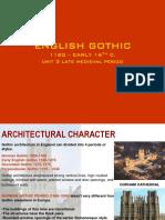 Unit 3 English Gothic Final