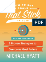 Webinar Workbook How to Set Goals That Stick in 2019 2.0