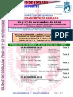 DEPORTE   El DXT de Coslada / 16 y 17 de noviembre de 2019