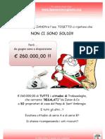 Manifesto 260.000 Euro