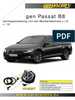 VW Passat B8- Kamera Cofania de v.1.0