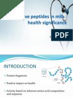 Bioactive peptides