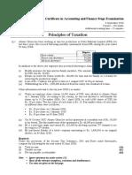 Tax paper