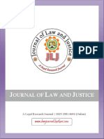 JOURNAL OF LAW AND JUSTICE_Broucher December 2019