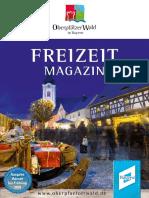 Freizeitmagazin Oberpfälzer Wald Winterausgabe 2019