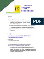 PRAKTIKUM IDK_Gangguan Hemodinamik