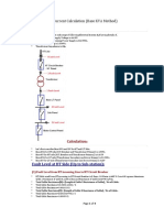 Short Circuit Current Calculation (Base KVA Method)