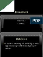 Recruitment h 5