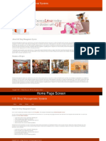 Python, Django and MySQL Project on Gift Shop Management System Screens