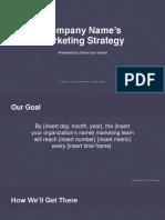 MarketingStrategy Template