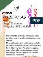 Psikologi pubertas